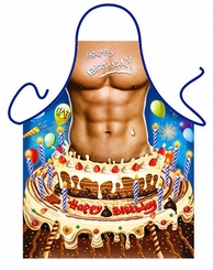 Happy Birthday Man Apron