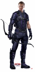 Hawkeye � Captain America Civil War Cardboard Cutout Life Size Standup