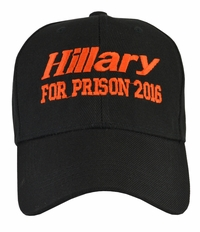 Hillary For Prison 2016 Black Hat