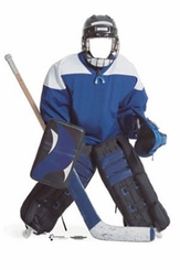 Hockey Player Stand-In Cardboard Cutout Life Size Standup