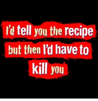 I'd Tell You the Recipe Apron