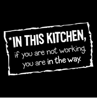 In this Kitchen Apron