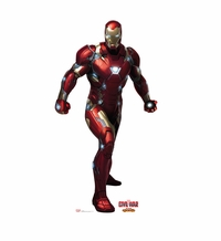 Iron Man � Captain America Civil War Cardboard Cutout Life Size Standup