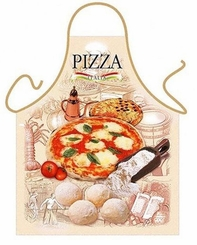 Pizza Funny Novelty Apron