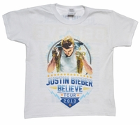 Justin Bieber - Believe World Tour T-Shirt