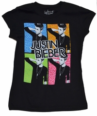 Justin Bieber Shirt Four Square