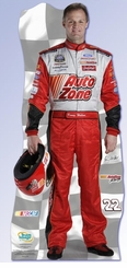 Kenny Wallace 2006 Auto Zone NASCAR Cardboard Cutout Life Size Standup