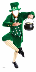 Leprechaun Cardboard Cutout Life Size Stand-In