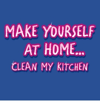 Make Yourself at Home Apron