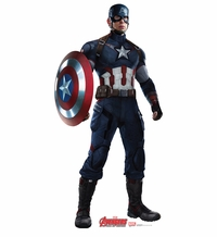 Marvel's Captain America � Age of Ultron Cardboard Cutout Life Size Standup