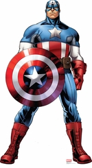 Marvel's Captain America from Avengers Assemble Cardboard Cutout Life Size Standup