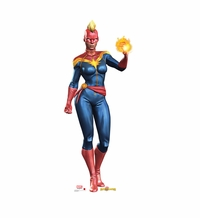 Marvel's Captain Marvel Cardboard Cutout Life Size Standup
