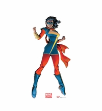 Marvel's Ms. Marvel Cardboard Cutout Life Size Standup
