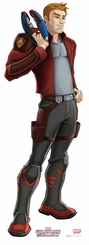 Marvel's Star-Lord � Animated Guardians of the Galaxy Cardboard Cutout Life Size Standup