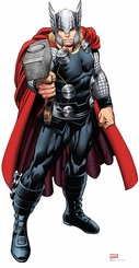 Marvel's Thor from Avengers Assemble Cardboard Cutout Life Size Standup