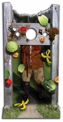 Medieval Stocks Cardboard Cutout Life Size Stand-In