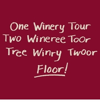 One Winery Tour Apron