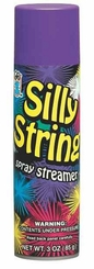 Purple Silly String 3oz Can Made in the USA