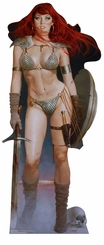 Red Sonja - Red Dawn Cardboard Cutout Life Size Standup
