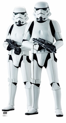 Stormtroopers Rogue One: Cardboard Cutout Life Size Standup