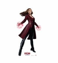 Scarlet Witch � Captain America Civil War Cardboard Cutout Life Size Standup