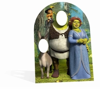 Shrek Child Cardboard Cutout Life Size Stand-In