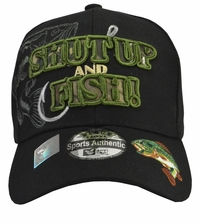 Shut Up and Fish Black Hat