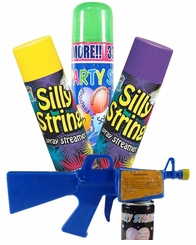 Silly String Party Crazy String