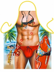 Swimsuit Funny Novelty Apron