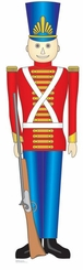 Toy Soldier Cardboard Cutout Life Size Standup