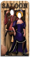 Wild West Cardboard Cutout Life Size Stand-In