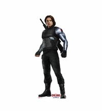 Winter Soldier � Captain America Civil War Cardboard Cutout Life Size Standup