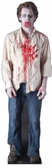 Zombie Guy Cardboard Cutout Life Size Stadup