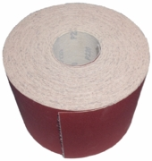 "6"" by 50 Yds Hook & Loop Sandpaper Roll, 220 Grit."
