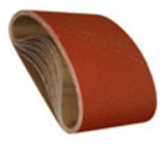 "8"" by 19"" Ceramic Cloth Floor Sanding Belts, 120 Grit. Pack of 10."