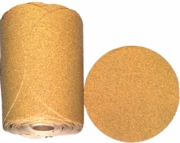 "GoldStar Self-Adhesive Sanding Discs, 5"" Diameter, P100 Grit, Roll of 100."