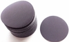 "Solid BlackCarbon Wet/Dry Paper Hook and Loop Sanding Discs, 6"" Diameter, P400 Grit, Box of 50."