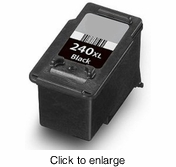 Remanufactured Canon PG240 Bk Ink Cartridges - click to enlarge
