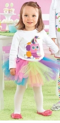 1st Birthday Dress-y Skirt Set Mud Pie Owl #1 - SOLD OUT