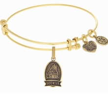 Angelica Bracelet : A Christmas Story Believe Antique Gold