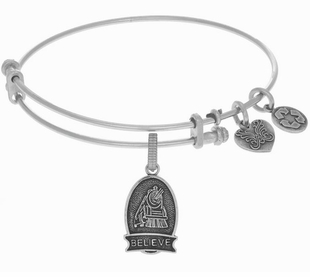 Angelica Bracelet : A Christmas Story Believe Silver