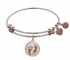 """Angelica Bracelet : Barefoot in the Sand Rose Gold """"one left"""""""