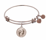 "Angelica Bracelet : Barefoot in the Sand Rose Gold ""one left"""