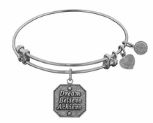 Angelica Bracelet : Dream, Believe, Achieve Silver - sold out