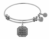 Angelica Bracelet : Dream, Believe, Achieve Silver