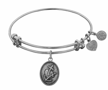 Angelica Bracelet : Faith , Hope and Charity Antique Silver - sold out