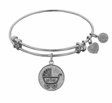 Angelica Bracelet : New Mom Bracelet Gift Antique Silver