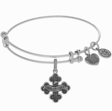 Angelica Courage Bangle Silver