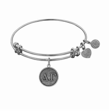 Angelica Delta Delta Gamma Sorority Bracelet Silver - sold out