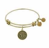 Angelica Delta Gamma Bracelet - Gold - Out of Stock